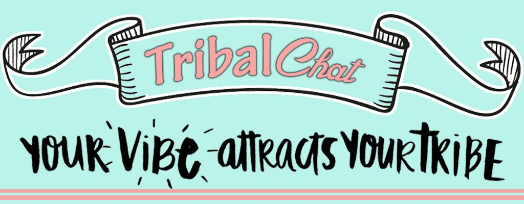 your vibe attracts your tribe banner