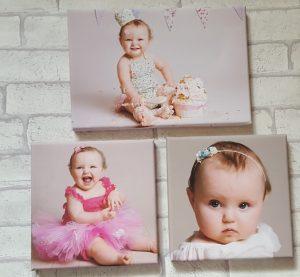 3 canvas prints of alyssa