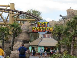 welcome to lost kingdom sign