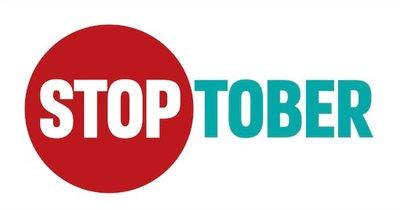 stoptober sign