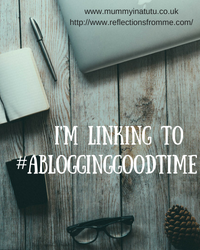 A Blogging Good Time