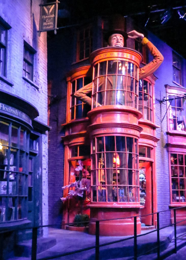 Fred and George Weasley's shop in Diagon Alley
